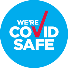We are a COVID-19 Safe Business badge